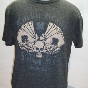 LUCKY BRAND Mens Large L T shirt